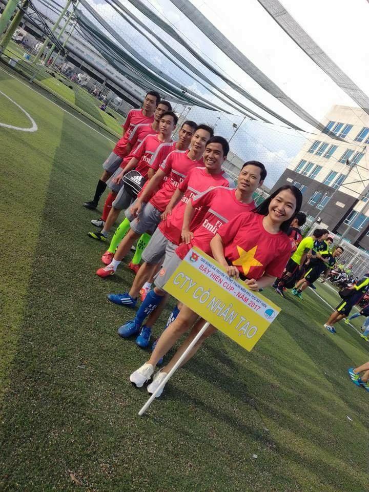 Công ty DVN - chi nhánh HCM tham dự giải đấu Bảy Hiền Cúp 2017 chào mừng ngày sinh nhật Bác 4
