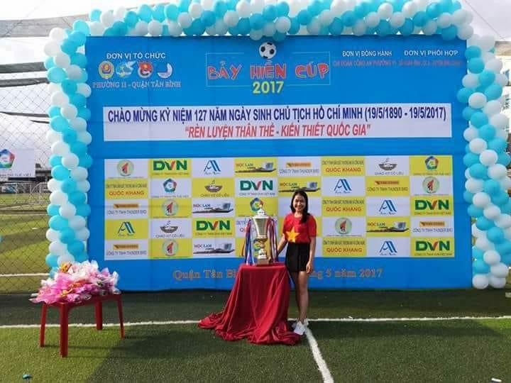 Công ty DVN - chi nhánh HCM tham dự giải đấu Bảy Hiền Cúp 2017 chào mừng ngày sinh nhật Bác 2