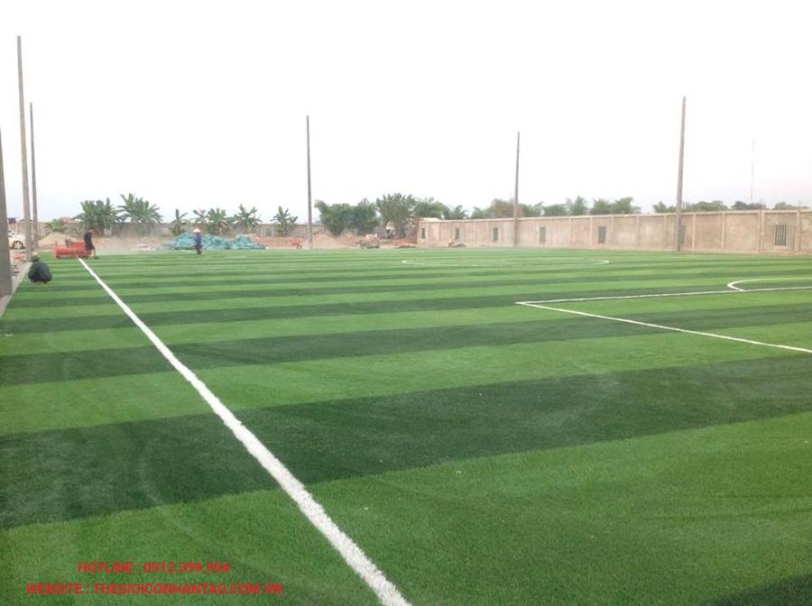 Một số hình ảnh của sân bóng đá cỏ nhân tạo 3A FC, Lào 1