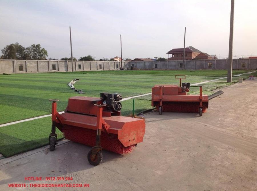 Một số hình ảnh của sân bóng đá cỏ nhân tạo 3A FC, Lào 4