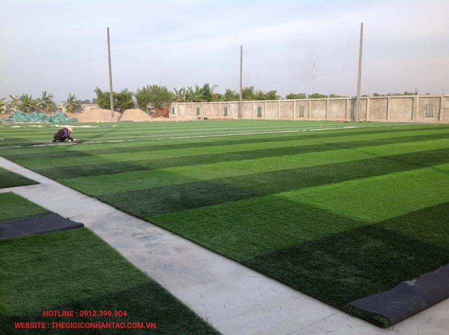 Một số hình ảnh của sân bóng đá cỏ nhân tạo 3A FC, Lào 6