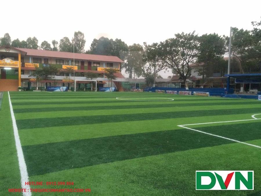 Sân bóng đá cỏ nhân tạo tại Viện Tòa Án, Lào 4
