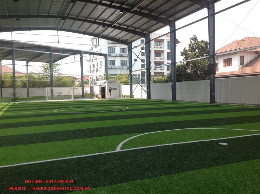 Một số hình ảnh của sân bóng đá cỏ nhân tạo WINNING SEVEN, Lào 1