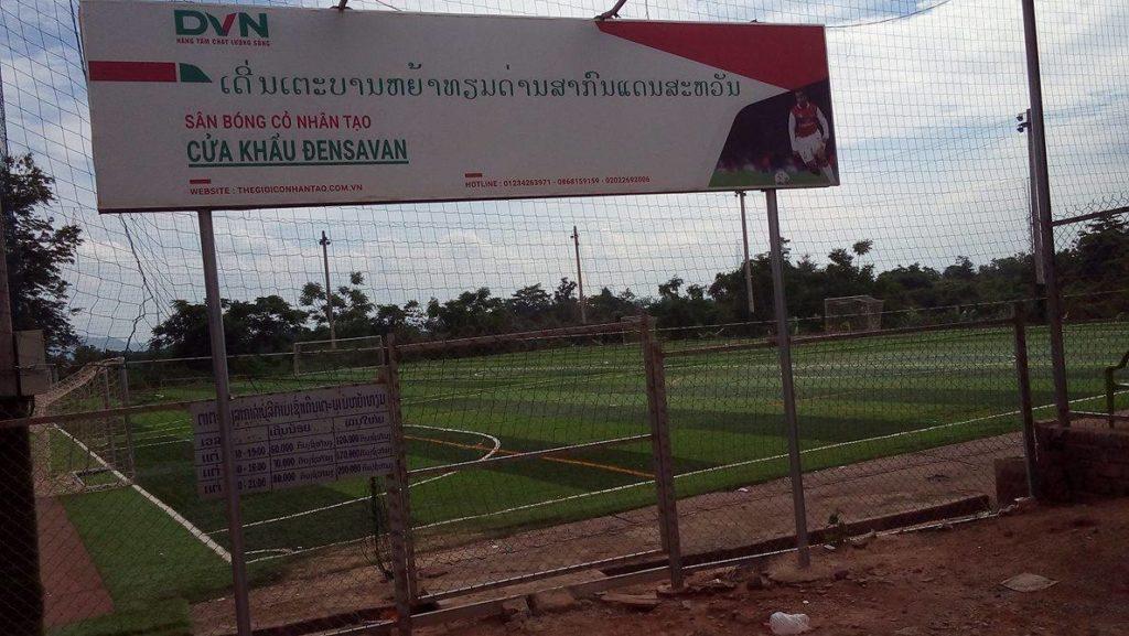 Một số hình ảnh tiêu biểu dự án sân bóng cửa khẩu Densavan - Lao Bảo - Quảng Trị 1