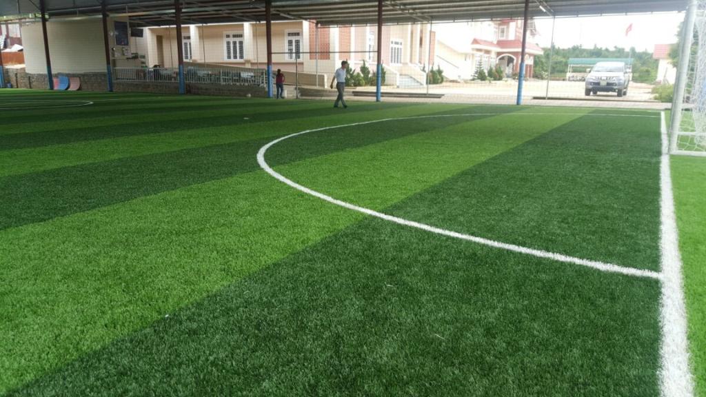 Dưới đây là một số hình ảnh của Dự án sân bóng có mái che tại Bảo Lộc, Lâm Đồng 1