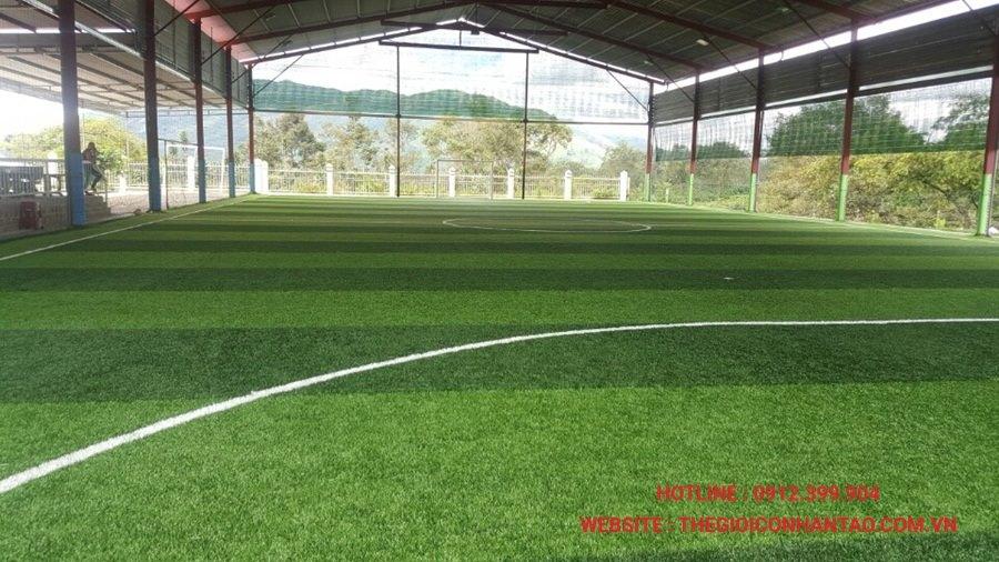 Dưới đây là một số hình ảnh của Dự án sân bóng có mái che tại Bảo Lộc, Lâm Đồng 3