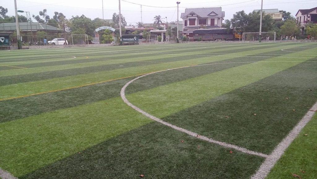 Một số hình ảnh tiêu biểu Dự án sân bóng Đại Dương thị xã Quảng Trị 1