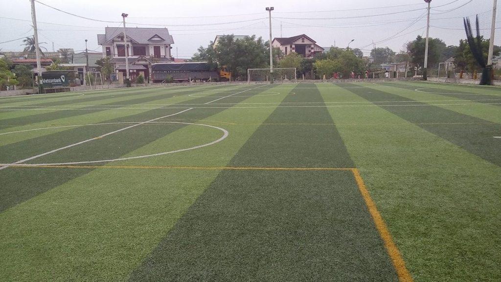 Một số hình ảnh tiêu biểu Dự án sân bóng Đại Dương thị xã Quảng Trị 2