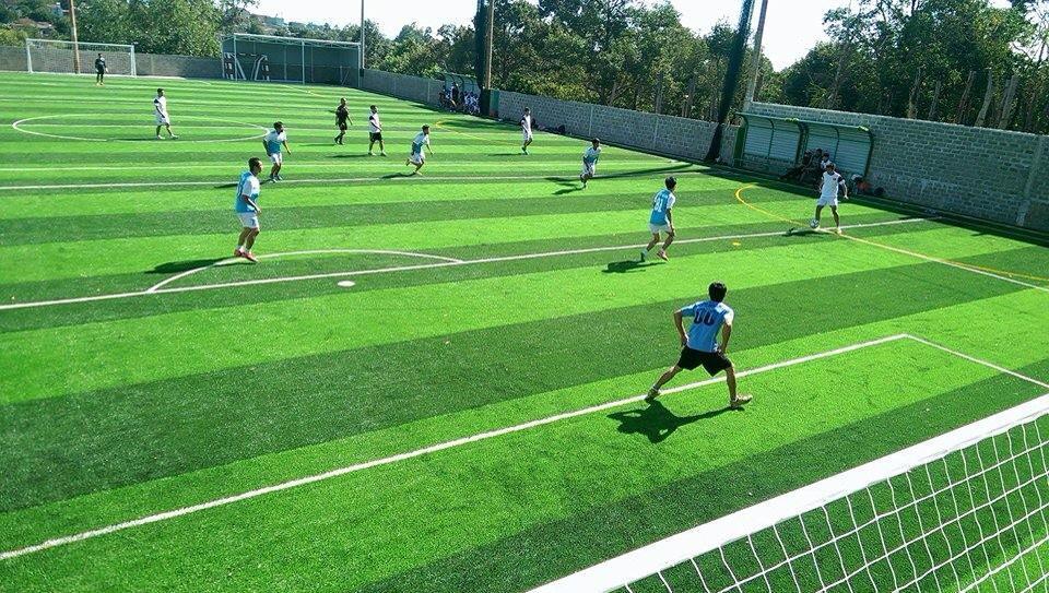 Một số hình ảnh của Dự án sân bóng đá cỏ nhân tạo Hòa Thảo 10