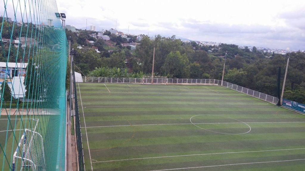 Một số hình ảnh của Dự án sân bóng đá cỏ nhân tạo Hòa Thảo 12