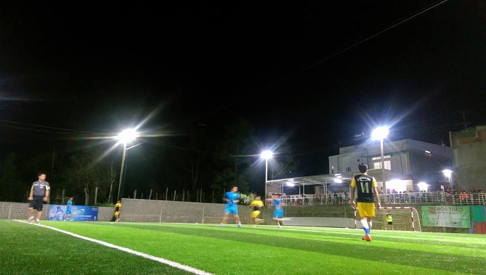 Một số hình ảnh của Dự án sân bóng đá cỏ nhân tạo Hòa Thảo 9
