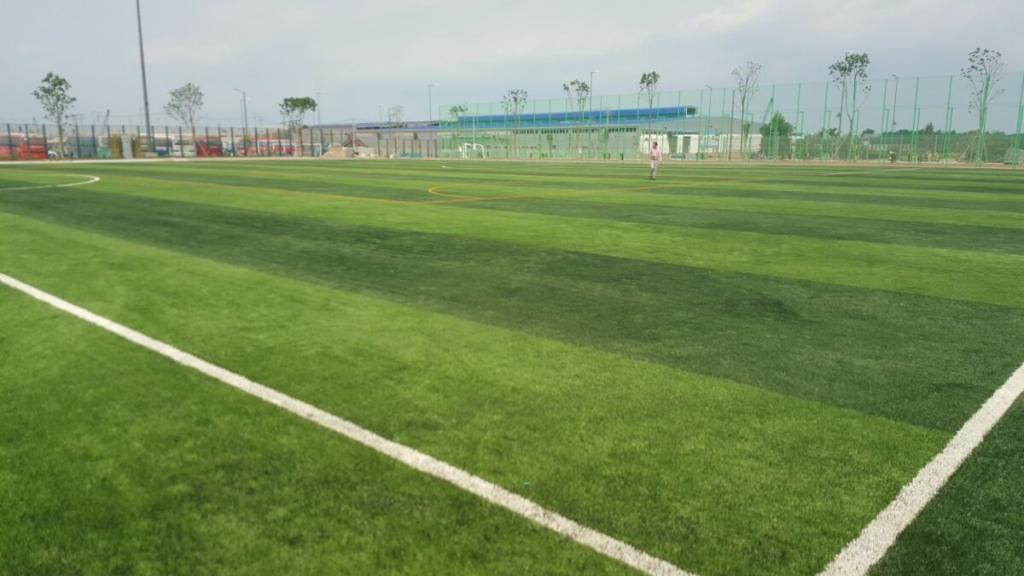 Một số hình ảnh của Dự án sân bóng tại Sam sung Việt Nam 3