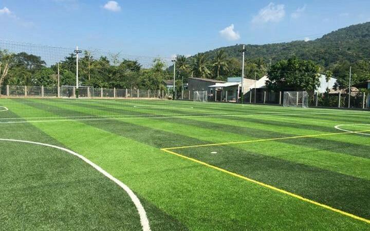 Dự án sân bóng tại Tri Tôn, An Giang