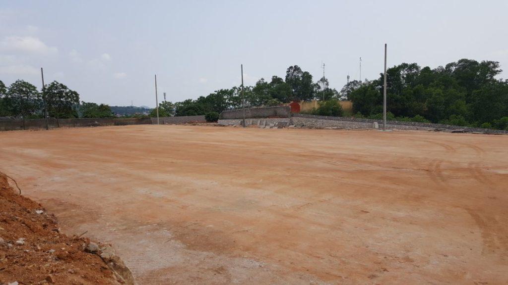 Dưới đây là một số hình ảnh tại Dự án sân bóng tại Sao Đỏ - Hải Dương 4