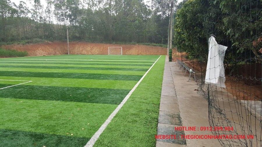 Một số hình ảnh dự án sân cỏ tại Ngã Ba Tuần Châu - Nghệ An 1