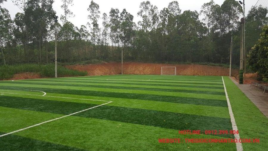 Một số hình ảnh dự án sân cỏ tại Ngã Ba Tuần Châu - Nghệ An 2