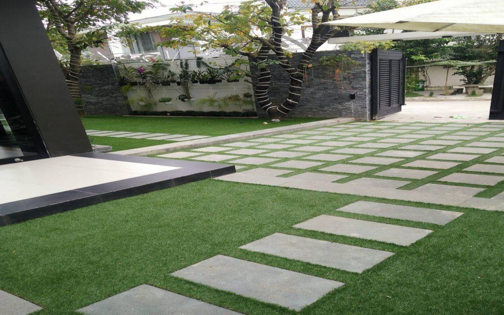 Một số hình ảnh của Dự án sân vườn biệt thự Hòa Xuân - Mrs Nga 1