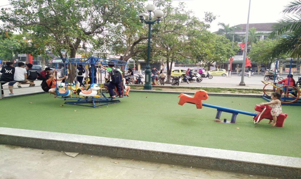 Một số hình ảnh của Dự án khu vui chơi trẻ em siêu thị Big C Huế 3
