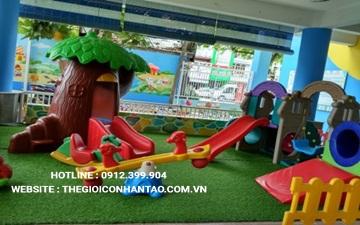 Dự án sân vườn trường mầm non Kindy City, quận 3, Hồ Chí Minh