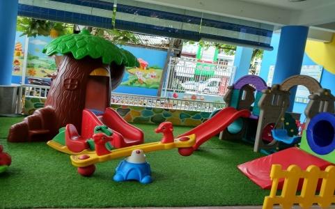 Một số hình ảnh Dự án sân vườn trường mầm non Kindy City, quận 3, tp Hồ Chí Minh 1