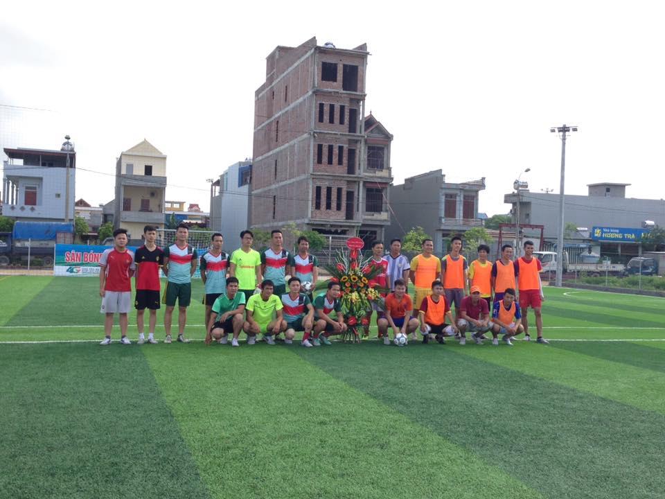 Một số hình ảnh trận giao hữu khai trương sân bóng tại Liễu Đề - Nghĩa Hưng - Nam Định 1