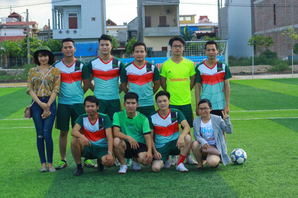 Một số hình ảnh trận giao hữu khai trương sân bóng tại Liễu Đề - Nghĩa Hưng - Nam Định 2