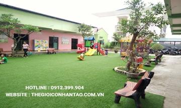 Dự án sân vườn trường mầm non Tuổi Hồng, Quảng Trị
