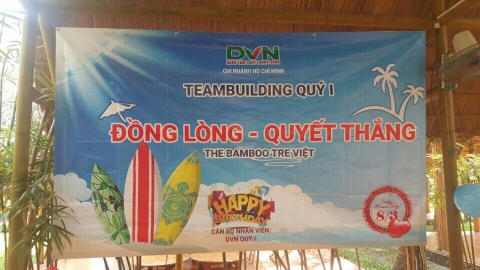 Một số hình ảnh Teambuilding DVN chi nhánh Hồ Chí Minh Qúy I - 2017 1