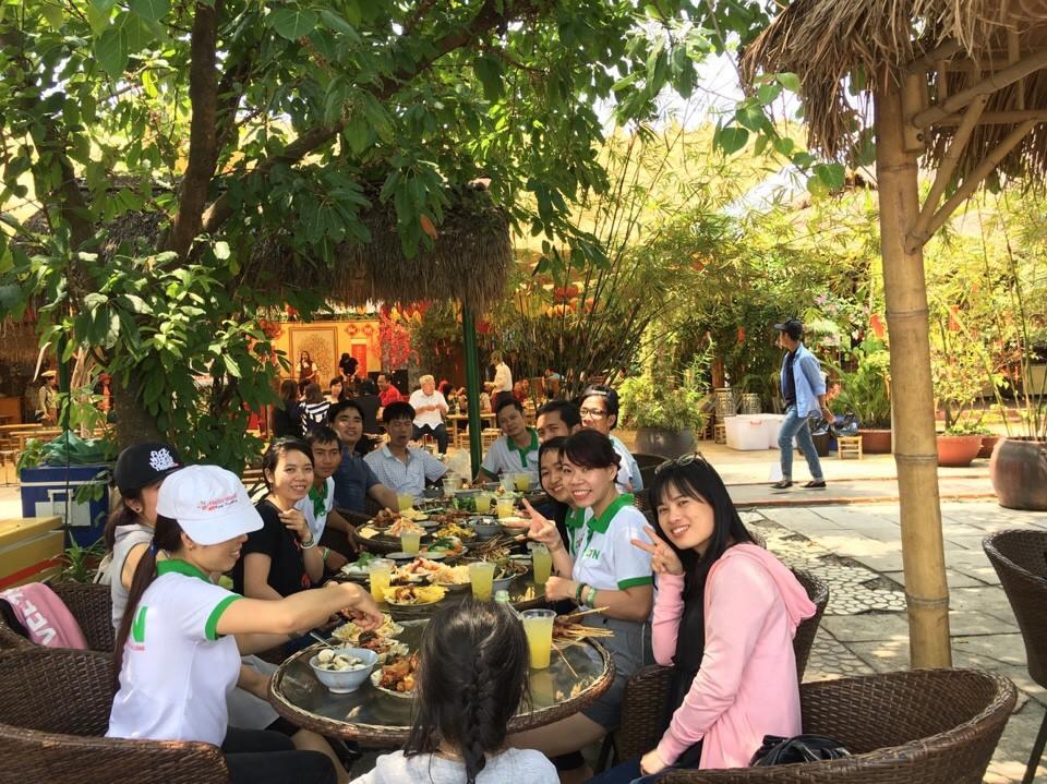 Một số hình ảnh Teambuilding DVN chi nhánh Hồ Chí Minh Qúy I - 2017 4