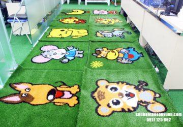 Thảm cỏ hình 12 con giáp