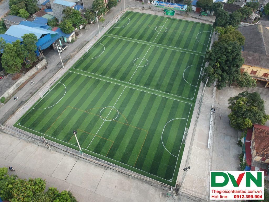 Một số hình ảnh của Dự án sân bóng TháiHưng tại Gia Sàng, Thái Nguyên 1