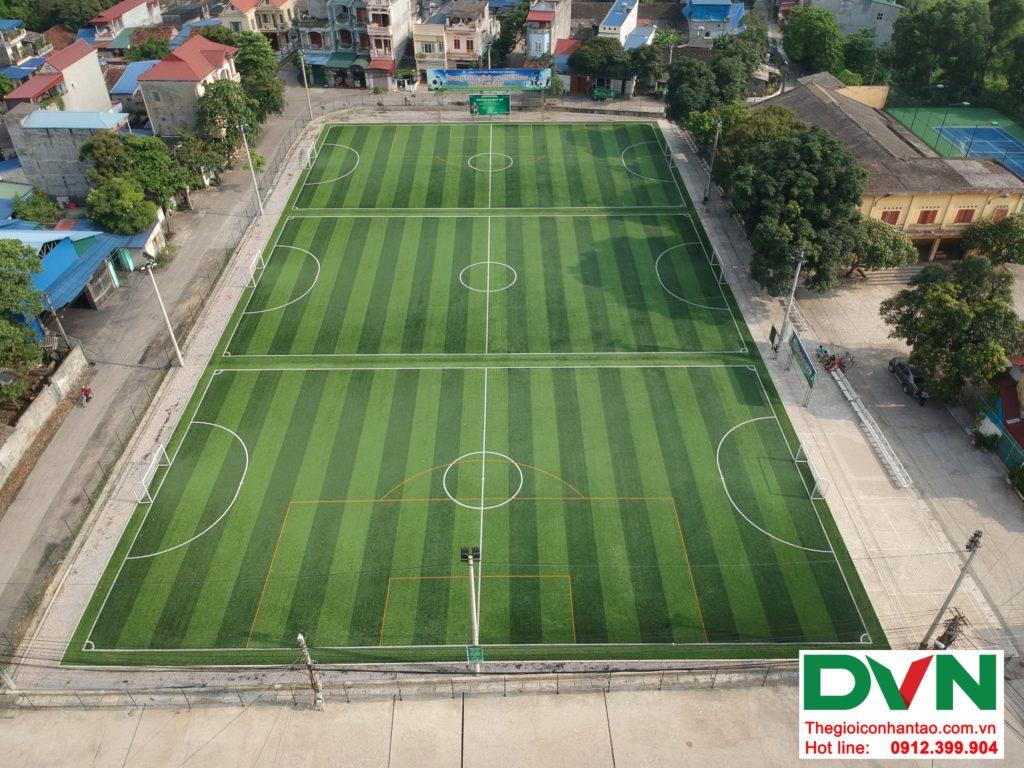 Một số hình ảnh của Dự án sân bóng TháiHưng tại Gia Sàng, Thái Nguyên 9