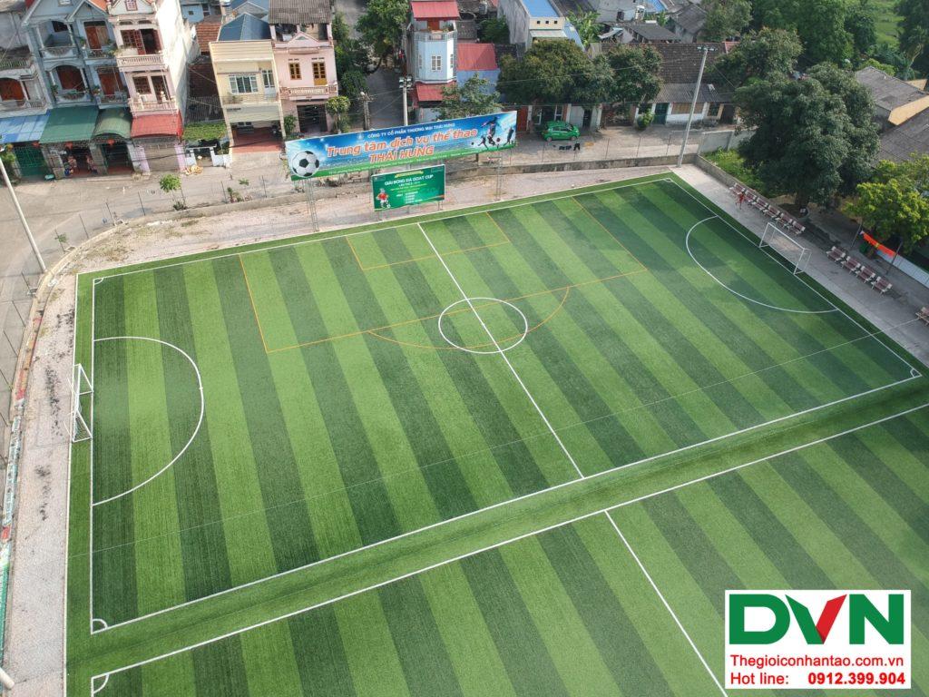 Một số hình ảnh của Dự án sân bóng TháiHưng tại Gia Sàng, Thái Nguyên 10