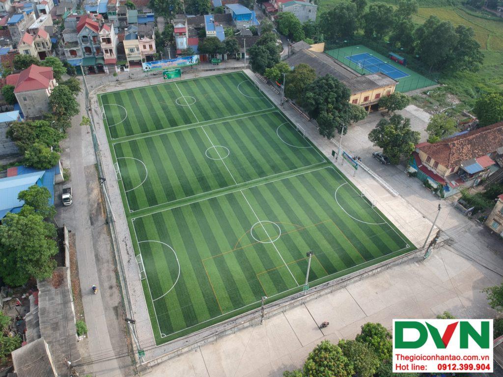 Một số hình ảnh của Dự án sân bóng TháiHưng tại Gia Sàng, Thái Nguyên 11