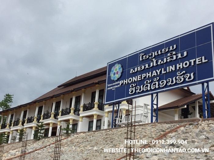 Một số hình ảnh của Dự án sân bóng tại Xayabouly - Lào 1