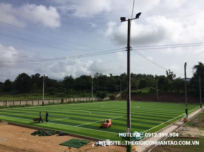 Một số hình ảnh của Dự án sân bóng tại Xayabouly - Lào 2