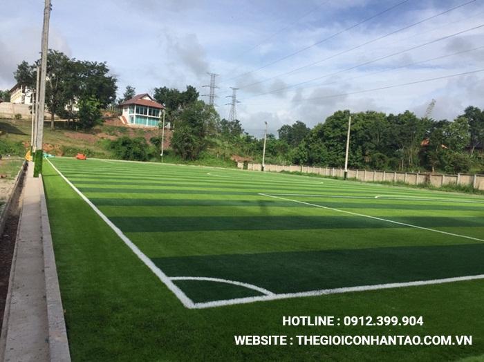 Một số hình ảnh của Dự án sân bóng tại Xayabouly - Lào 3