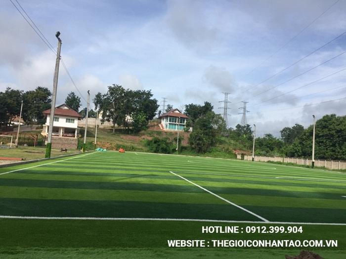 Một số hình ảnh của Dự án sân bóng tại Xayabouly - Lào 4