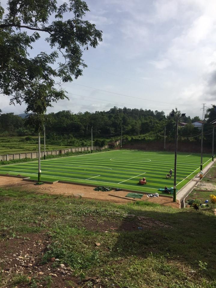 Một số hình ảnh của Dự án sân bóng tại Xayabouly - Lào 5