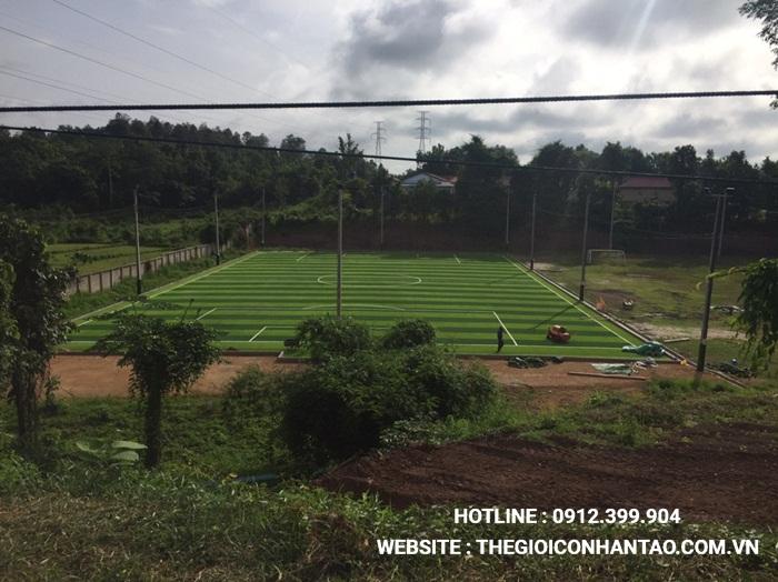 Một số hình ảnh của Dự án sân bóng tại Xayabouly - Lào 6
