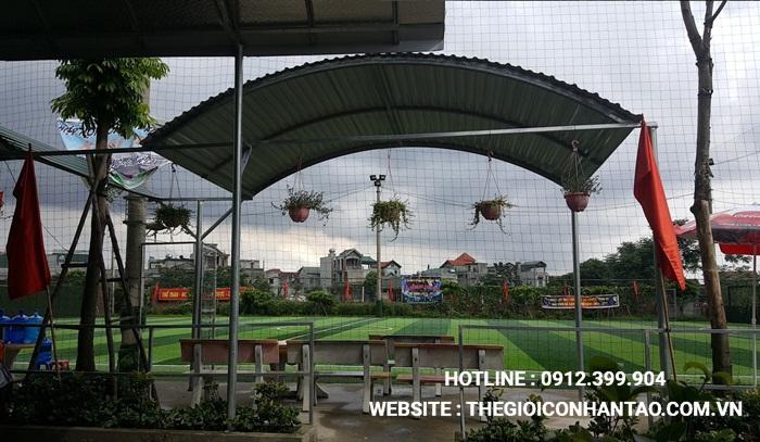 Dự án sân bóng xã Xanh Nậu – Thạch Thất – Hà Nội