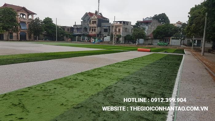 Một số hình ảnh của Dự án sân bóng TháiHưng tại Gia Sàng, Thái Nguyên 3