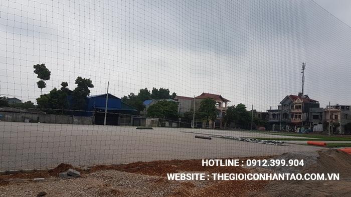 Một số hình ảnh của Dự án sân bóng TháiHưng tại Gia Sàng, Thái Nguyên 4