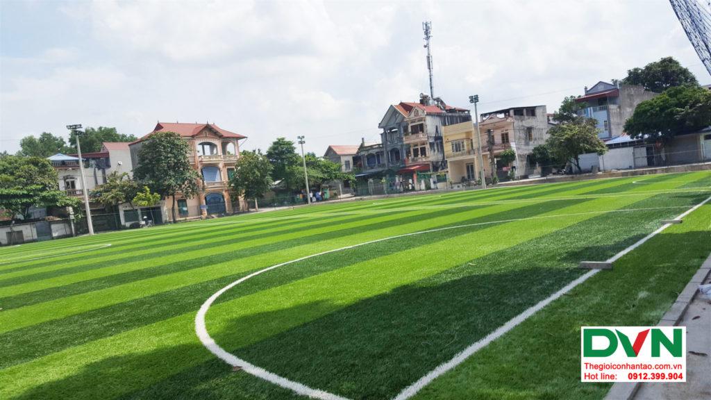 Một số hình ảnh của Dự án sân bóng TháiHưng tại Gia Sàng, Thái Nguyên 7