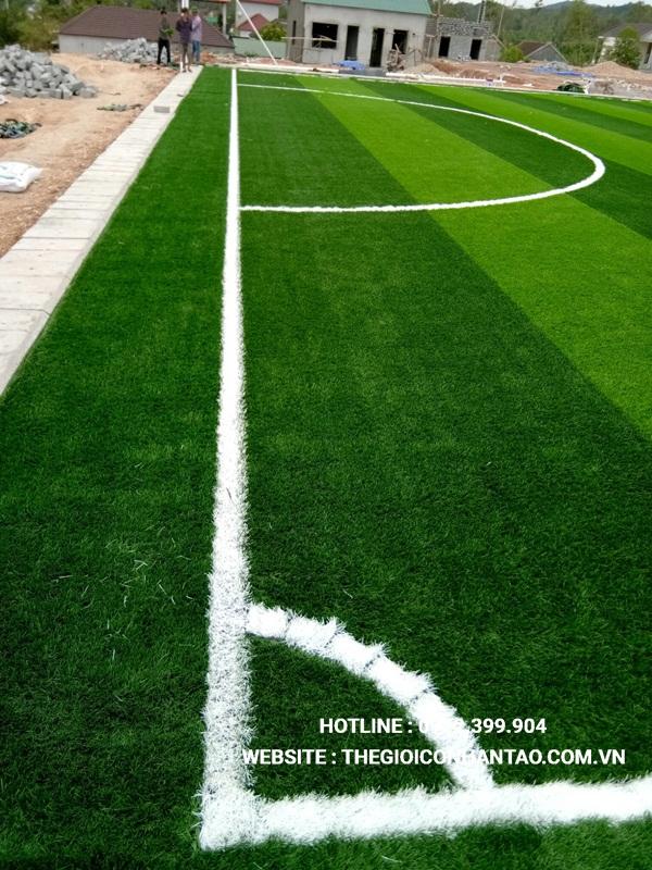 Một số hình ảnh Dự án sân bóng tại Nam Đàn, Nghệ An 3
