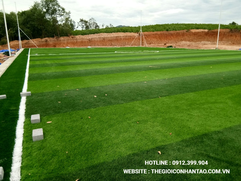 Một số hình ảnh Dự án sân bóng tại Nam Đàn, Nghệ An 1