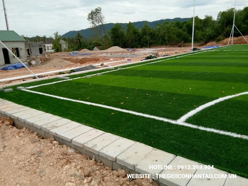 Một số hình ảnh Dự án sân bóng tại Nam Đàn, Nghệ An 2