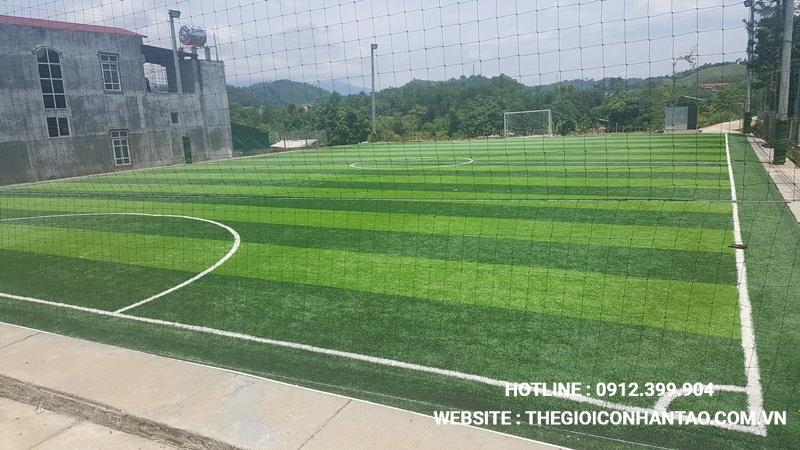 Một số hình ảnh Dự án sân bóng tại Chiêm Hóa, Tuyên Quang 3