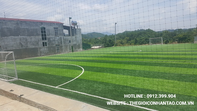Một số hình ảnh Dự án sân bóng tại Chiêm Hóa, Tuyên Quang 1