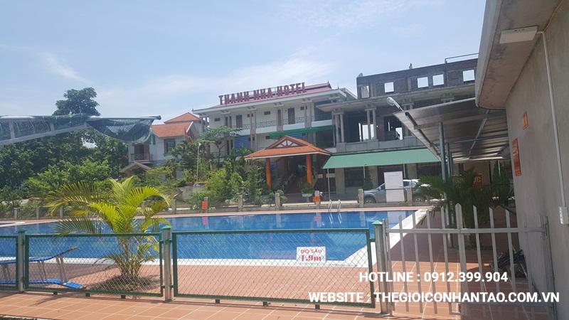 Một số hình ảnh Dự án sân bóng tại Chiêm Hóa, Tuyên Quang 2